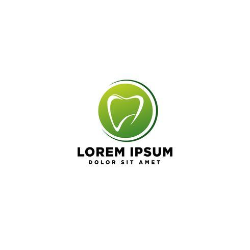 illustration vectorielle de dent dentaire santé entreprise logo modèle