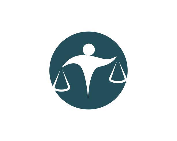 abogado personas logo y simbolos negocios, vector