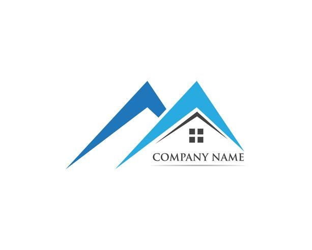 Home logo and symbol vector