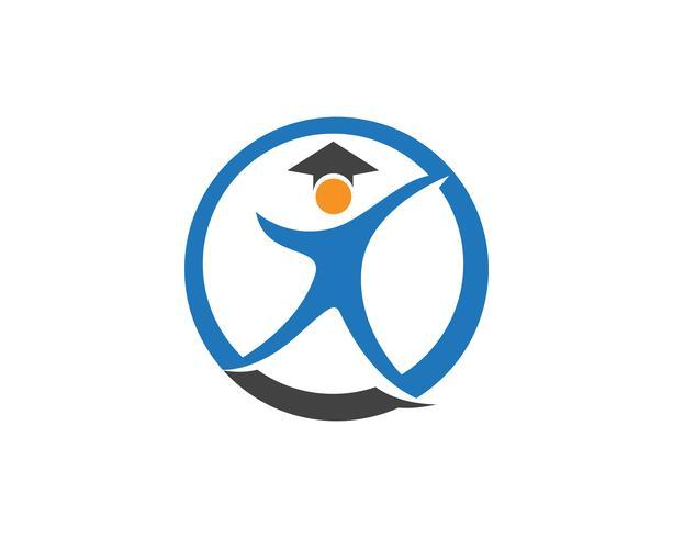 conception de l'éducation logo modèle vector illustration,