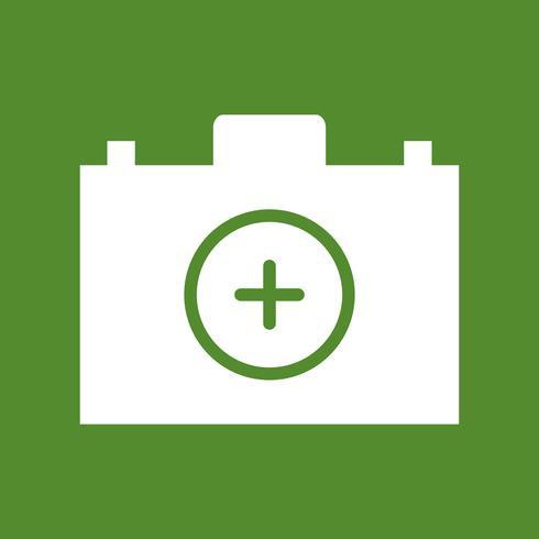 Vektor-Erste-Hilfe-Kasten-Ikone