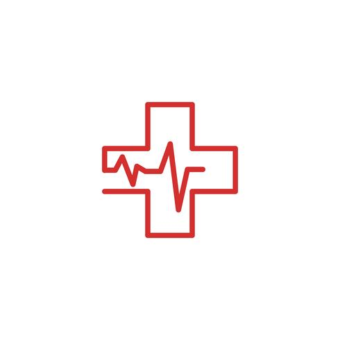 Modèle de vecteur de logo Croix médicale et santé pharmacie