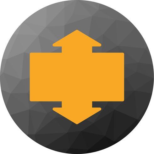 Vector Upward and Downward Icon
