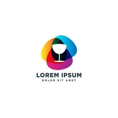voedsel chef-kok logo ontwerp vector pictogram element