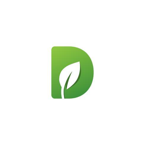 letra d creativo logo plantilla vector illustrator