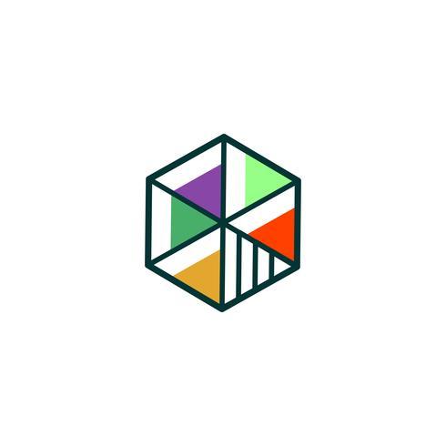 educação, ilustração em vetor logotipo graduado, elementos isolados ícone