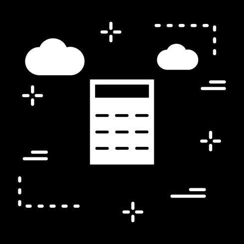 Vektor-Taschenrechner-Symbol