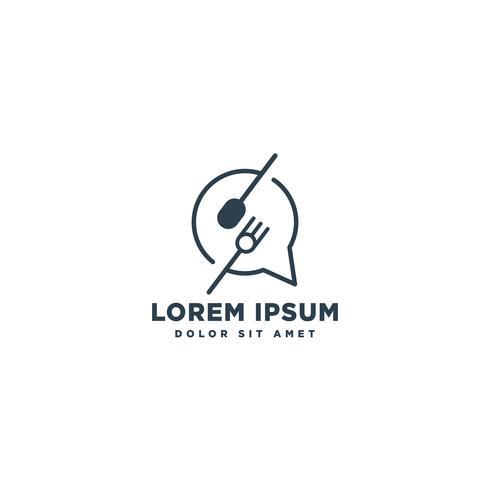 Küchenchef Logo Design Vektor Icon-Element