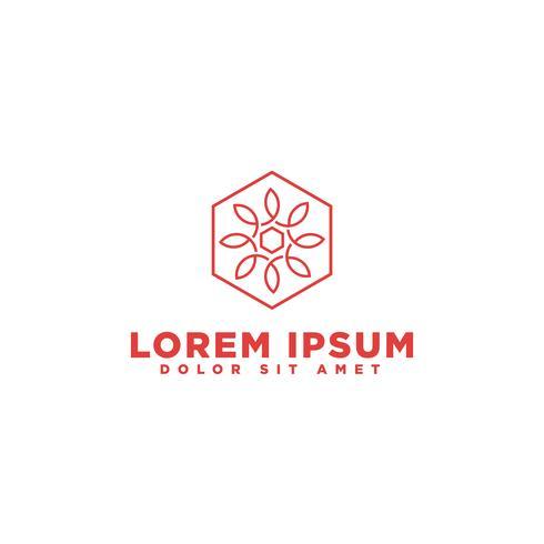 Ícone de logotipo elegante ornamento. Design de ornamento universal
