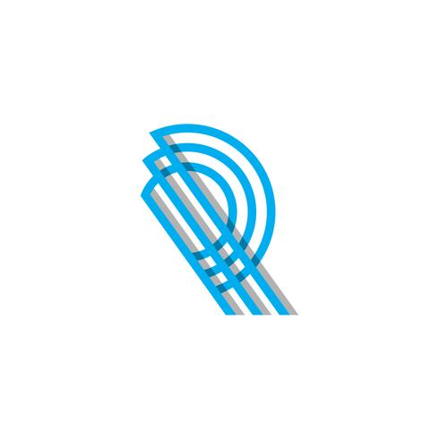 initial Monogram R Logo Template Vector illustration and inspiration