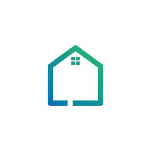 letter l architect, home, construction creative logo template