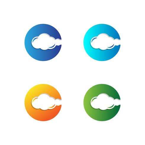 Letter C Set Logo template vector illustration ready use for technology