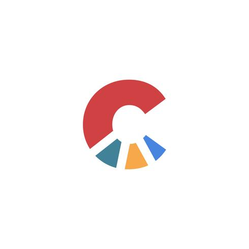 Letter C Set Logo template vector illustration ready use for technology