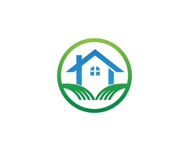 Home logo and symbols vector