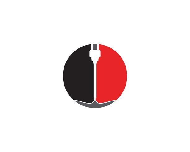 circuit technology ilustration vector logo