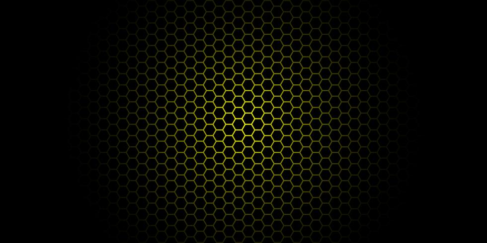 gradient honeycomb background vector illustration, banner isolated