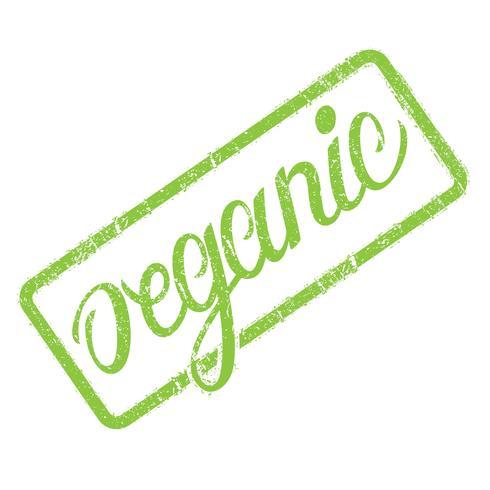 Timbro organico con lettering disegnati a mano isolato su bianco. Etichetta, modello distintivo