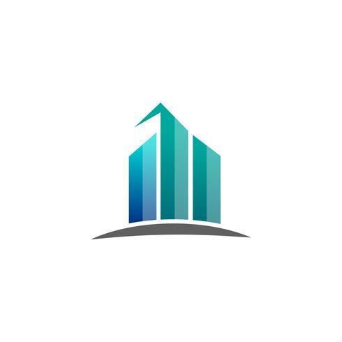 boekhouding, financiën creatieve logo sjabloon vector geïsoleerd