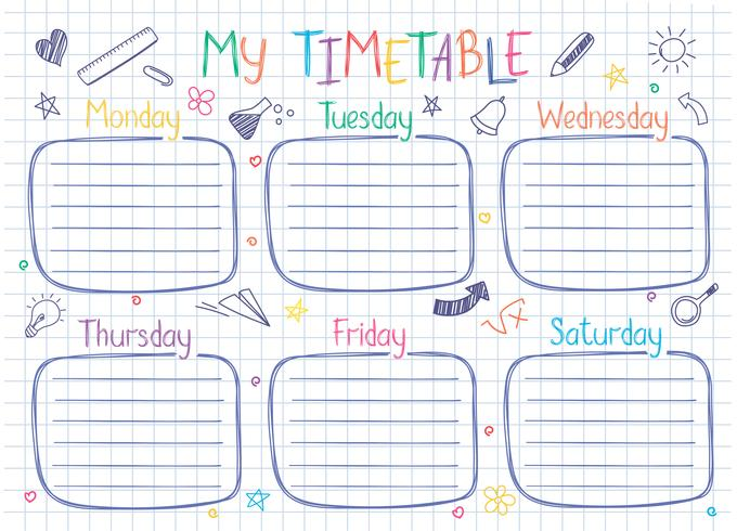 Week Timetable Template from static.vecteezy.com