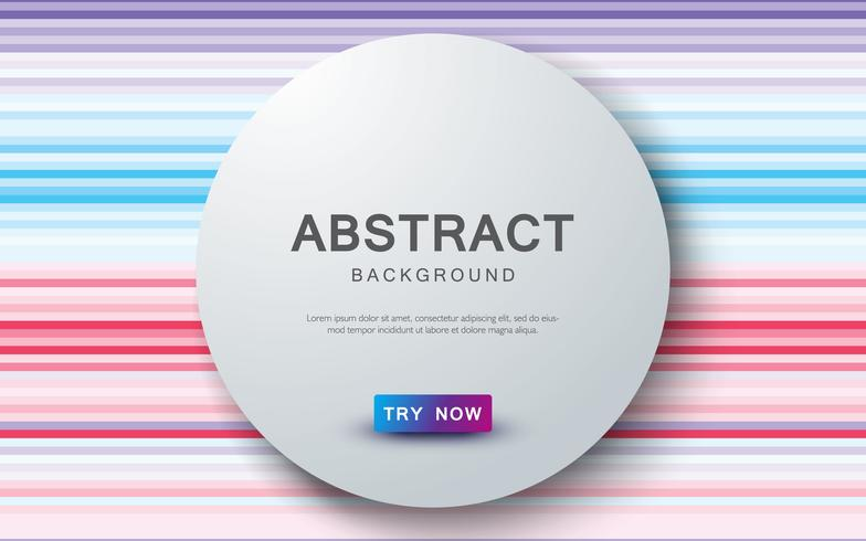 L'estratto ha colorato la priorità bassa con la decorazione di strato di sovrapposizione del cerchio realistico.