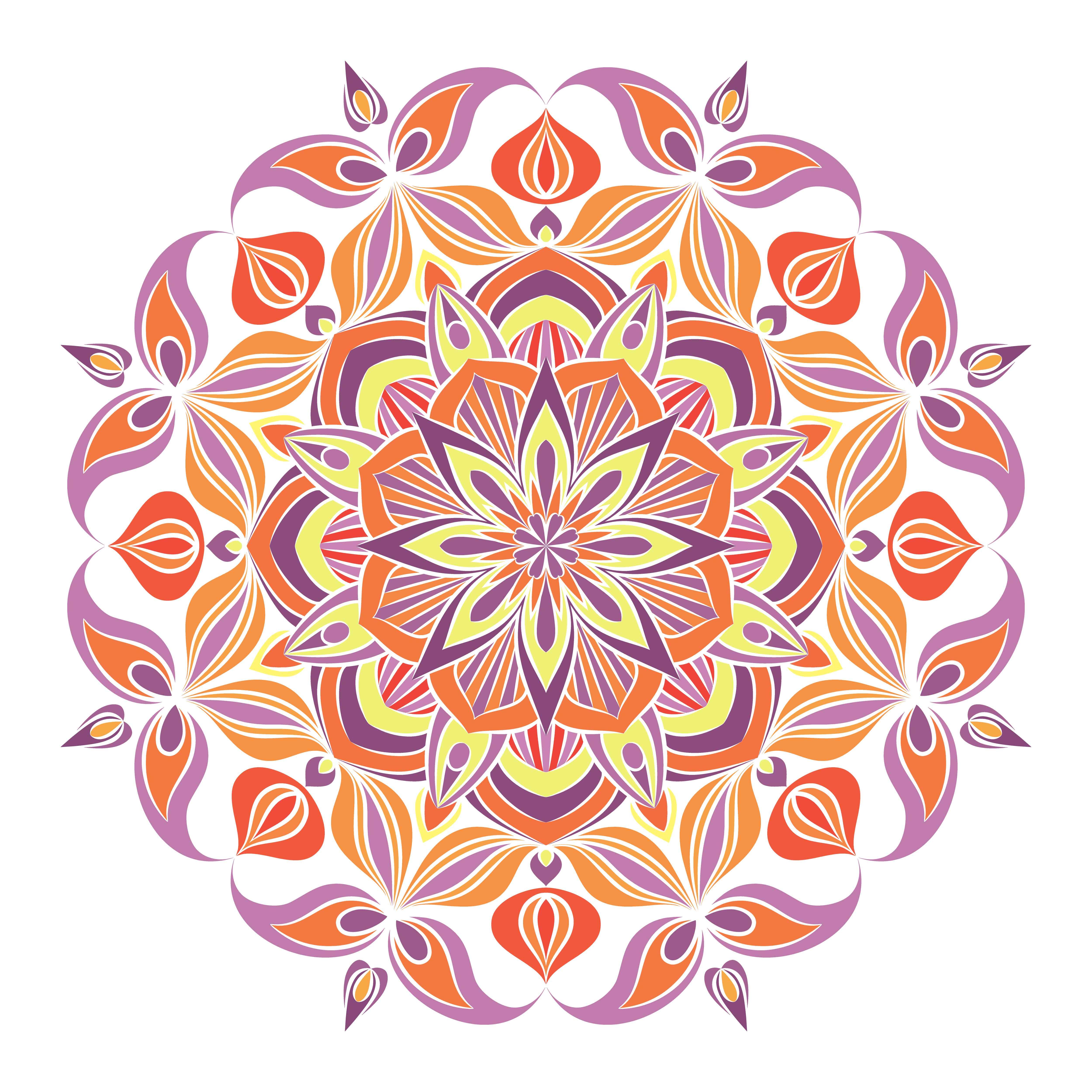 Vector Mandala Ornament Vintage Decorative Elements