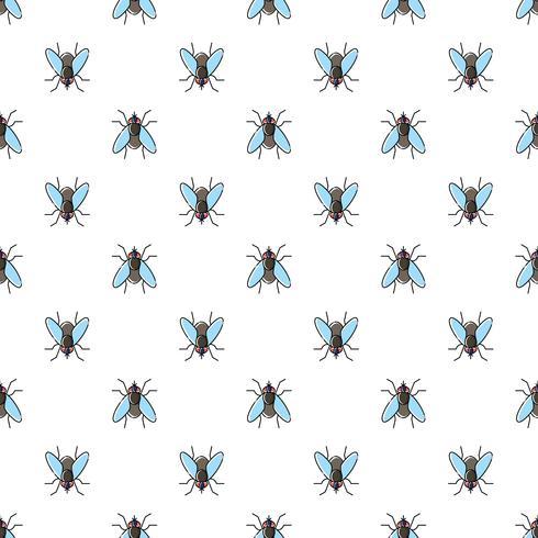 Fly vektor sömlöst mönster för textil design, tapeter, papper
