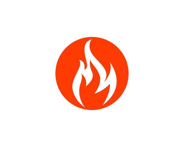Fire flame vector illustration design
