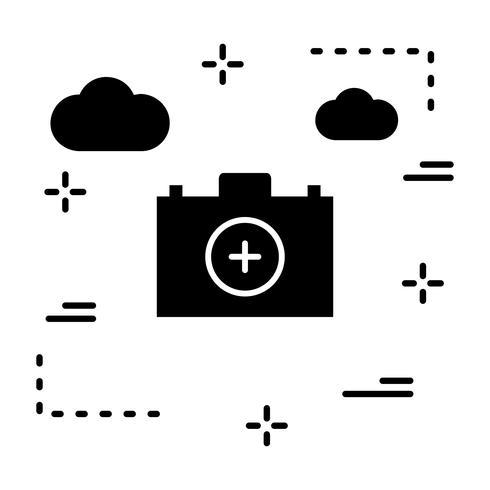 Icona del primo soccorso vettore