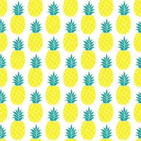 Modèle sans couture d'ananas pour scrapbooking, design textile, papier d'emballage