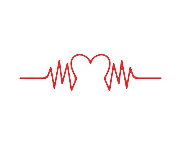 Arte diseño salud medico pulso latido