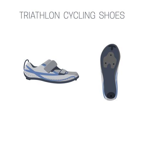 Triathlon-Fahrradschuhe