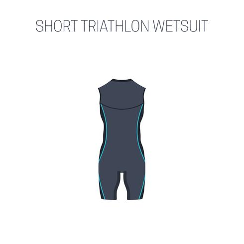 Triathlon sleveless  wetsuit