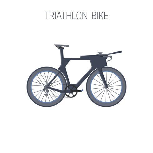 Road bike. Sport icon. vector
