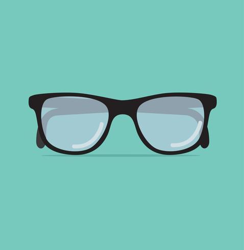 Ilustração em vetor na moda óculos de sol