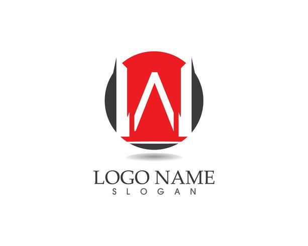 Plantilla de vector logo de letra W