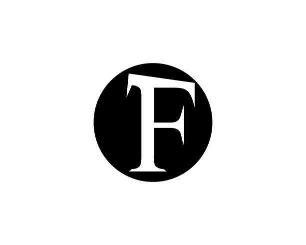 Modello di vettore di logo lettera aziendale