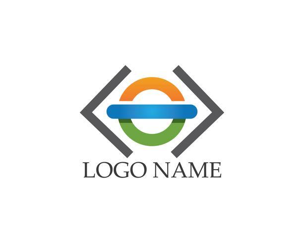 Vettore di logo icona aziendale