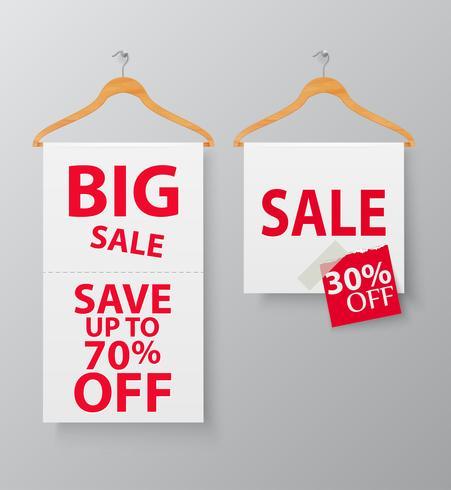 Försäljningsfrämjande med trådhängare och banner