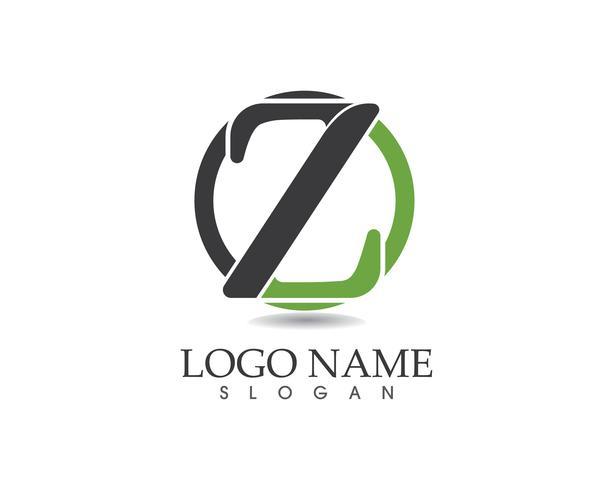 Z brief logo vector