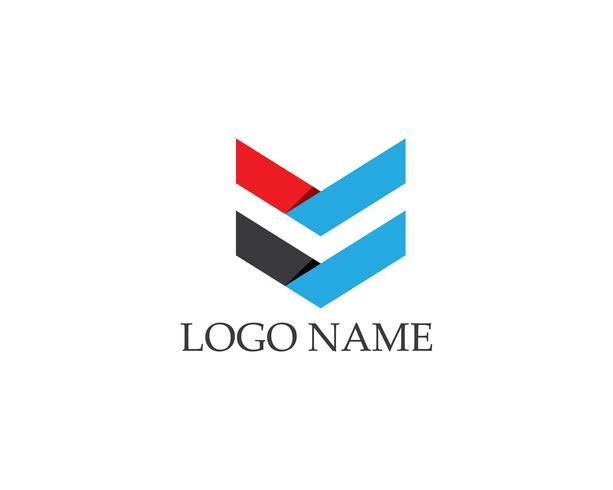 Modèle de vecteur de business flèches logo