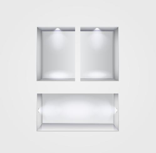 intérieur de la galerie de niche