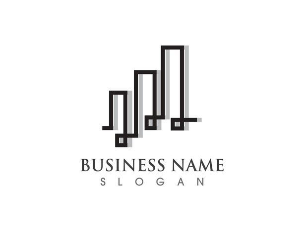 Finance logo et symbole vecteur