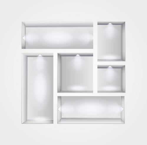 interno galleria di nicchia