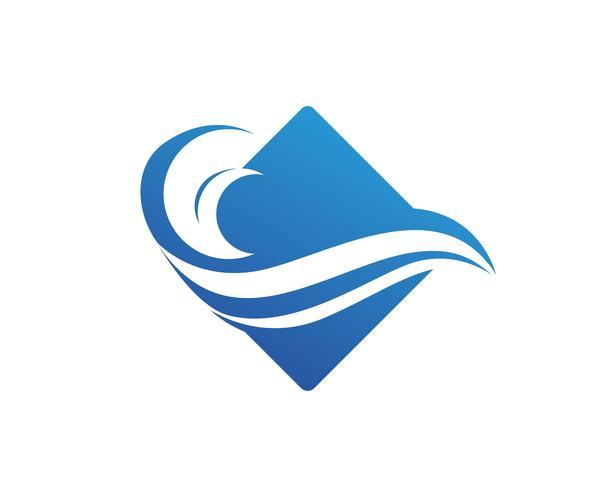 logo della spiaggia dell'onda