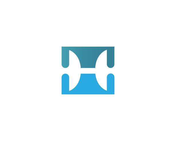 Plantilla de logotipo e iconos de símbolos de reproductor de películas