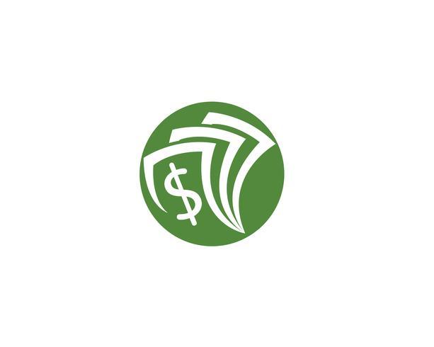 modèle de vecteur logo argent