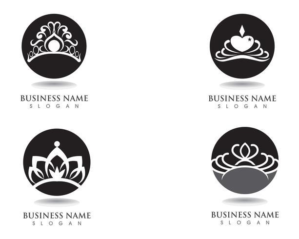 Crown Logo Template illustrations vectorielles
