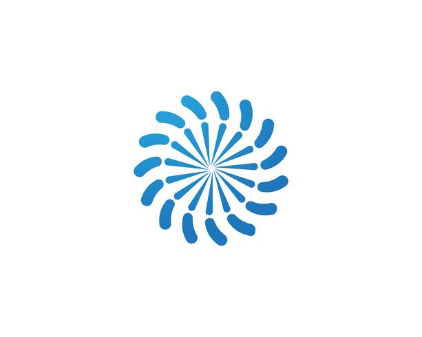 vortex logo and symbols template