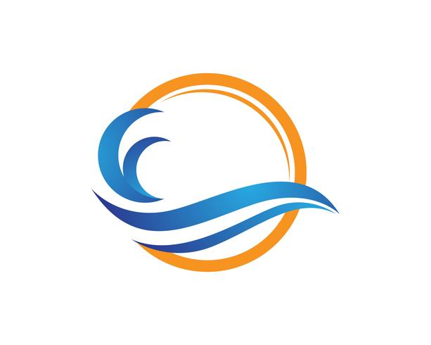 wave beach logo