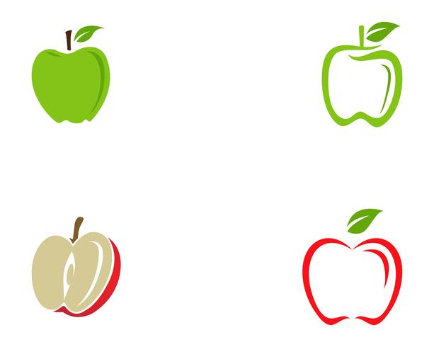 Apple vectorillustratie